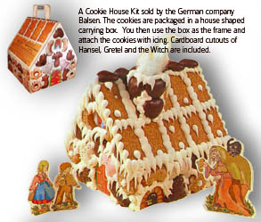 German Cookie House Kit