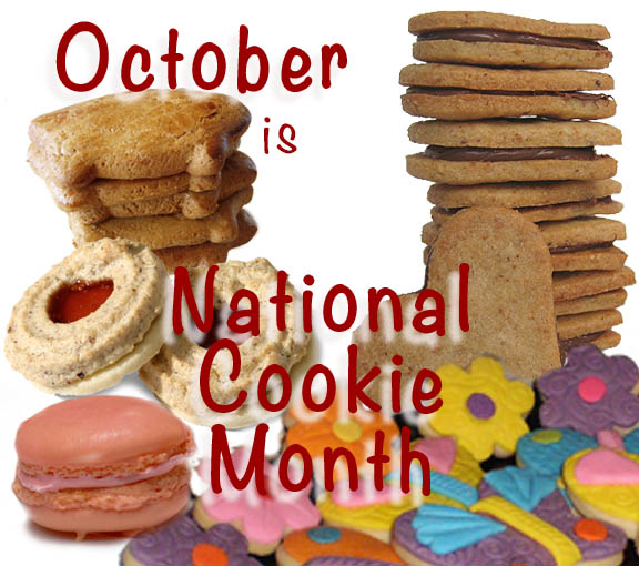 October is National Cookie Month