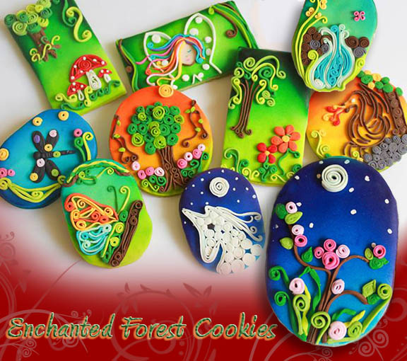 Enchanted Forest Cookies