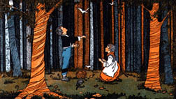 Hansel & Gretel in the Woods
