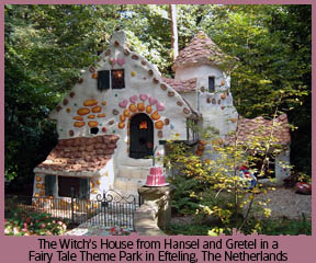 Hansel & Gretel Fairy Tale Park in The Netherlands