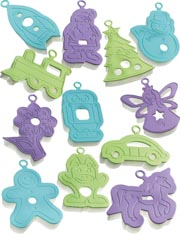 12 Cookie Cutters from Kitchen Craft