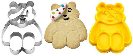 Pudsey Bear Cutters